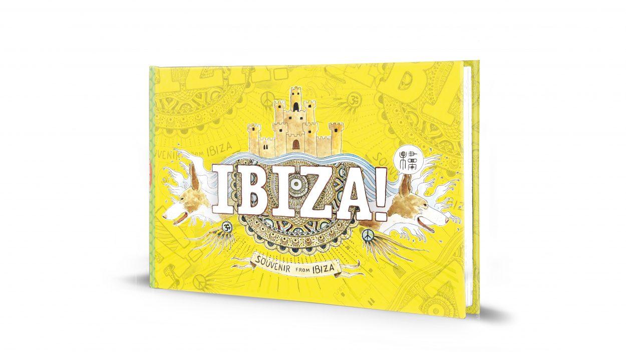 Portada guía ilustrada de Ibiza