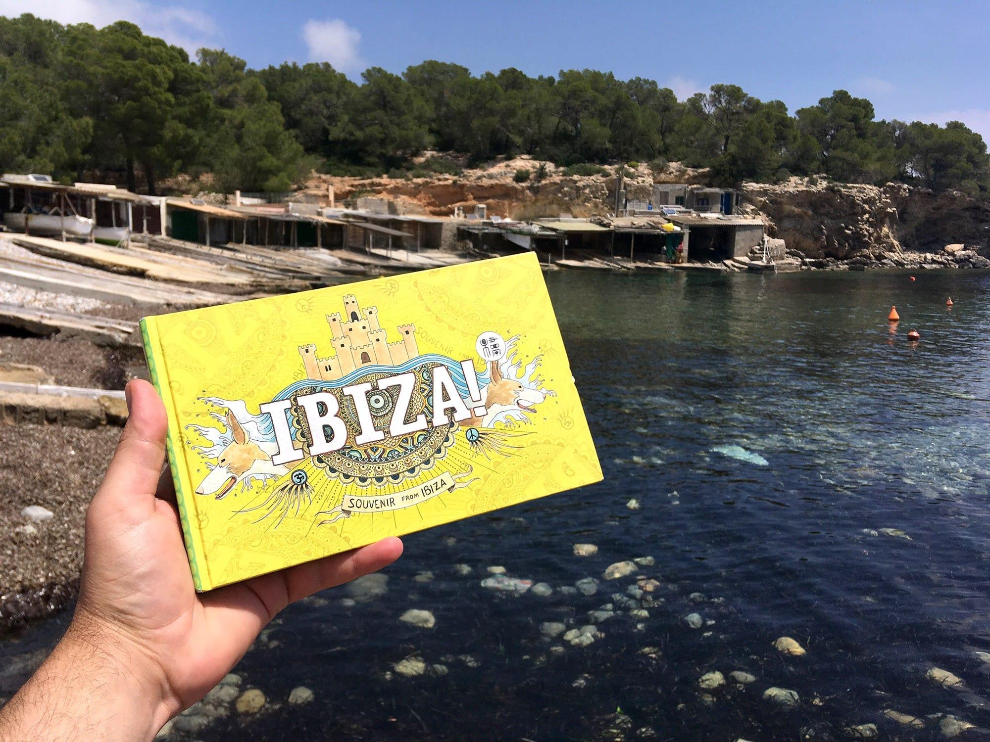 Libro ilustrado de Ibiza