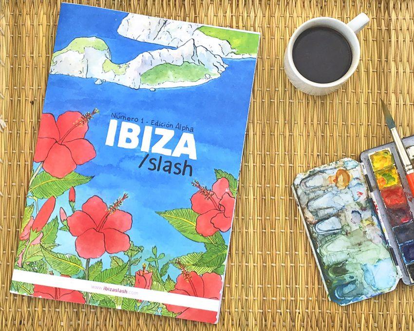 Portada de la revista Ibiza Slash. Ilustración y cómic
