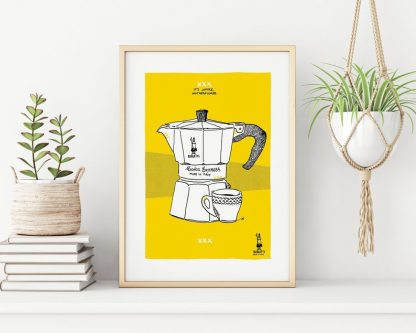 Dibujo cafetera Bialetti