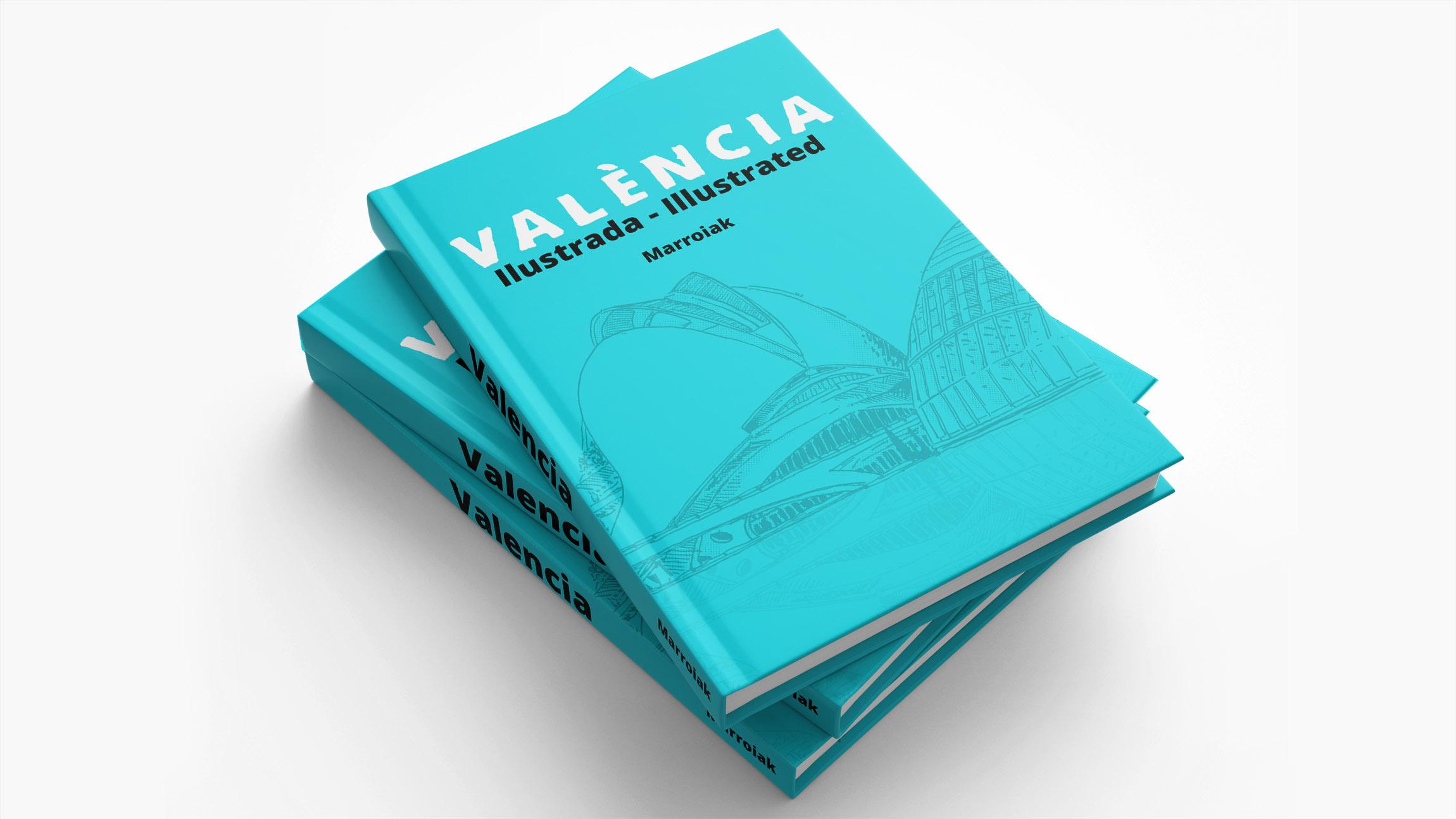 Album ilustrado de la ciudad de valencia