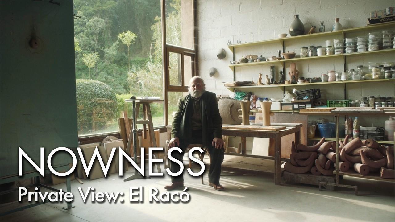 Video del artista y ceramista Joan Gardy Artegas
