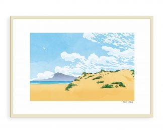 Dibujo Playa de Oliva