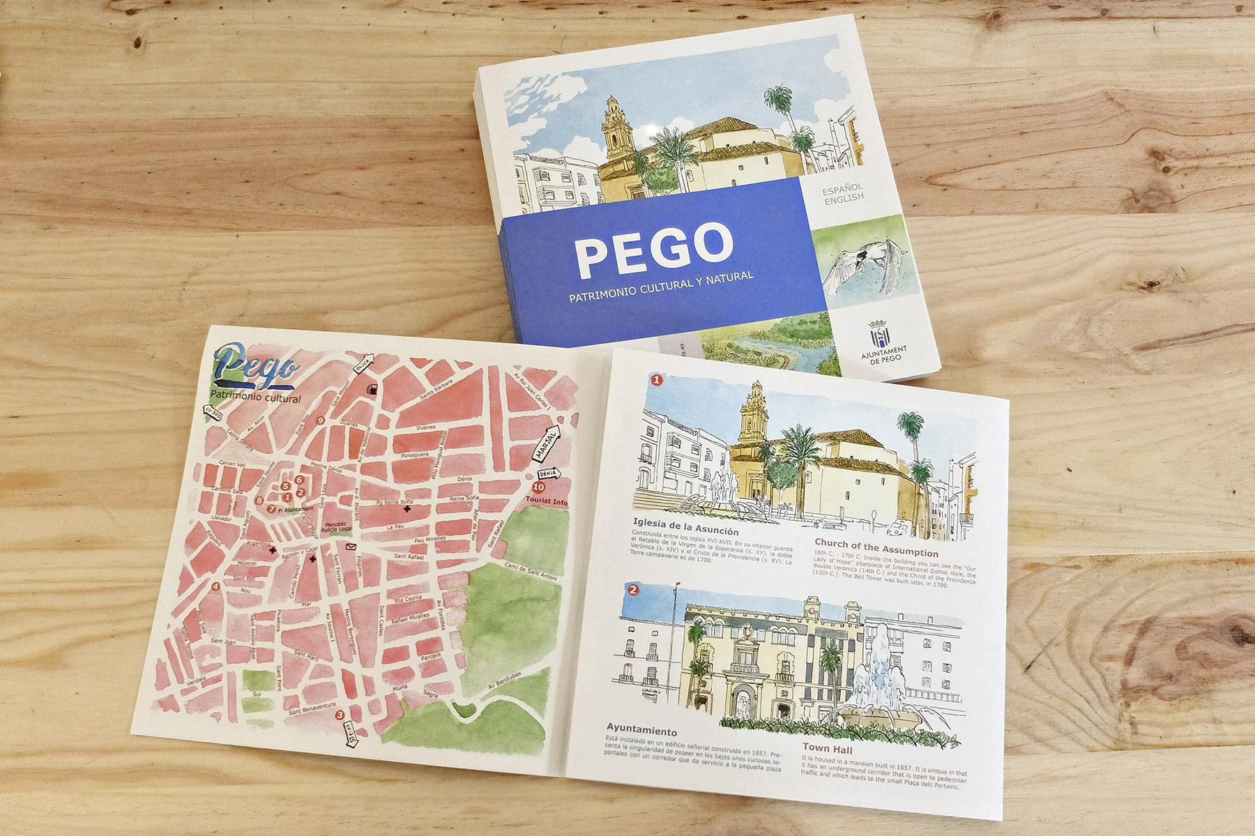 Diseño de mapa de la Marjal Oliva-Pego