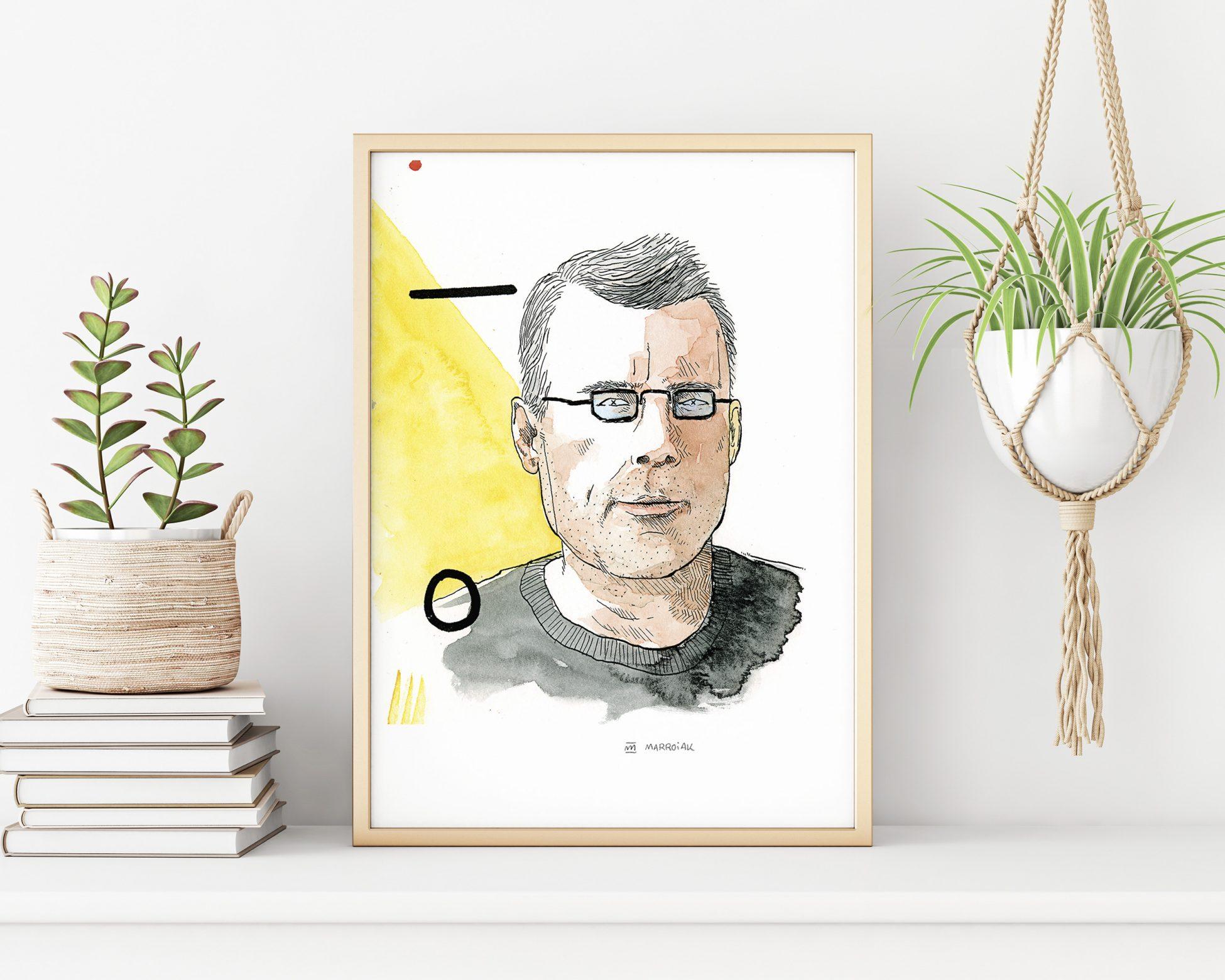 Retrato ilustrado